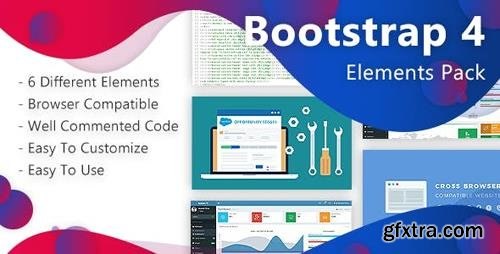 CodeCanyon - Bootstrap-4 Elements Pack (Update: 10 April 19) - 23230753