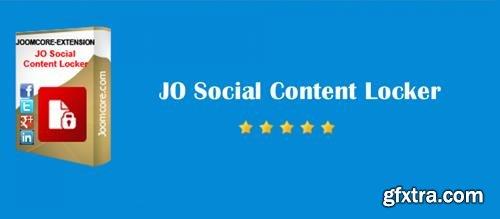 JO Social Content Locker v4.0 - Joomla Extension - JoomCore