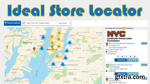 Ideal Store Locator v3.9.1 - Joomla Plugin