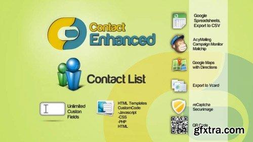 Contact Enhanced Pro v3.9.1 - Joomla Component