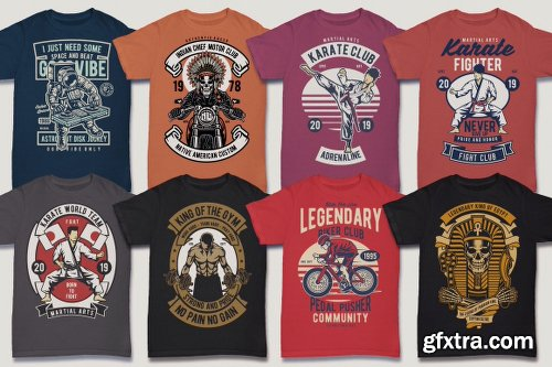 DealJumbo 100 Premium Retro T-shirt Designs 2