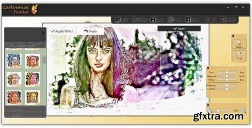 Cartoonize Painter 1.4.1