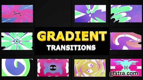 Colorful Cartoon Transitions 243393