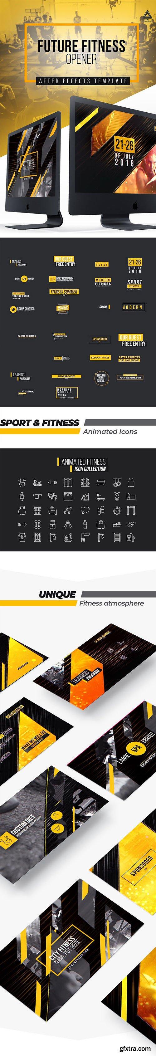 Videohive - Future Fitness Opener - 22111461