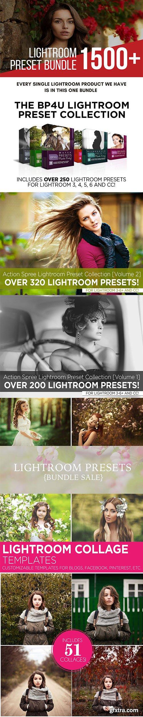 1500+ Lightroom Presets + BONUS - BRAND NEW BUNDLE