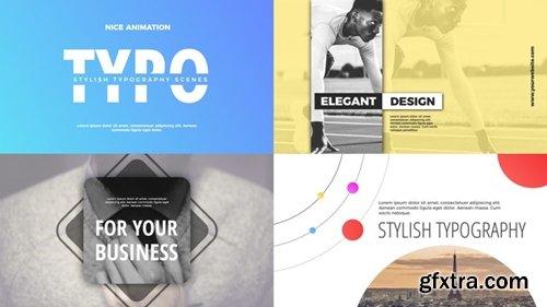 MotionArray -  Modern Typography 221697