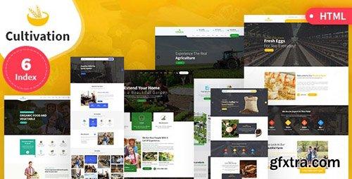 ThemeForest - Cultivation v1.0 - Multipurpose Responsive HTML Template - 23900235