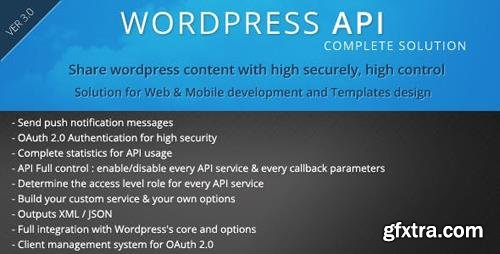 CodeCanyon - SMIO Wordpress API Complete Solution v5.3.1 - 6448487