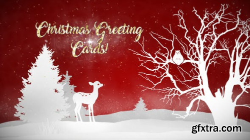 VideoHive Christmas Greeting Cards 22916932