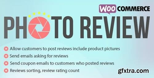 CodeCanyon - WooCommerce Photo Reviews v1.1.2 - Review Reminders - Review for Discounts - 21245349