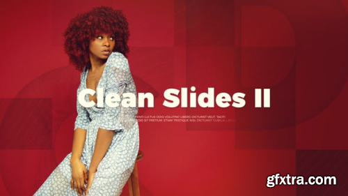 VideoHive Upbeat Clean Slides II 22061299