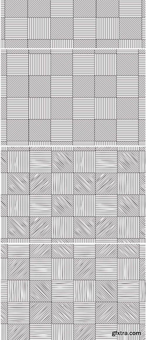 Parquet Seamless Patterns Set 1472880