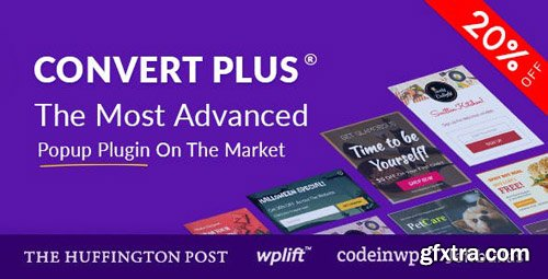 CodeCanyon - Popup Plugin For WordPress - ConvertPlus v3.4.4 - 14058953 - NULLED