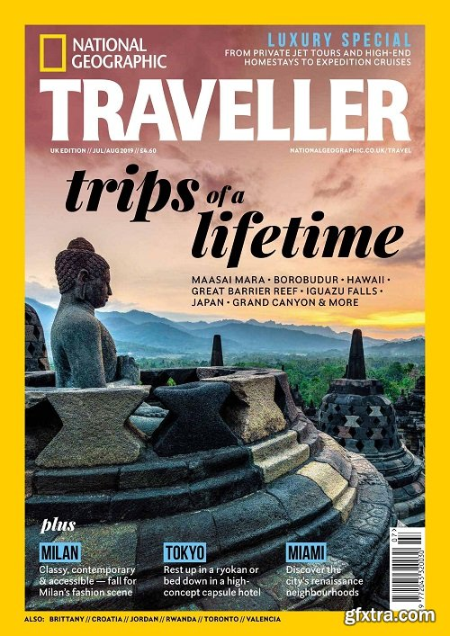 National Geographic Traveller UK – July/August 2019