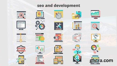 SEO And Development - Flat Animation Icons 206731