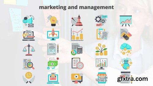 Marketing And Management – Flat Animation Icons 206728