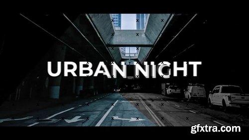 MotionArray - Urban Night Intro 245941