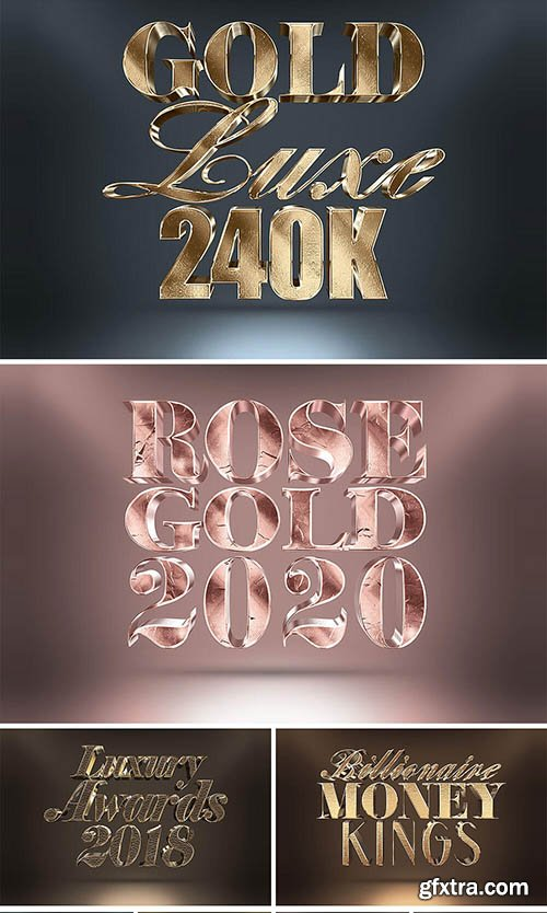 InkyDeals 200+ Photoshop Text Effects Bundle