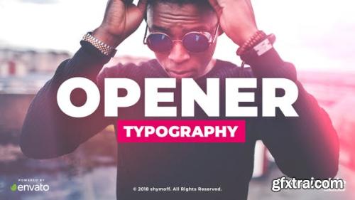 VideoHive Typo Opener 22637206