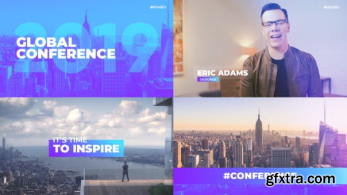 VideoHive Global Conference Promo 23215948