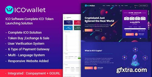 CodeCanyon - ICOWallet v1.2 - ICO Script | Complete ICO Software and Token Launching Solution - 23203151 - NULLED
