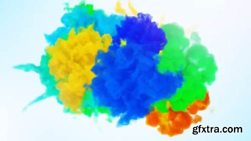 Videohive - Color Of Smoke Logo Reveal - 13398143