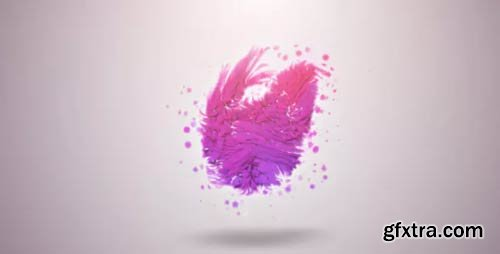 Videohive - Organic Particles Logo Reveal - 2074187