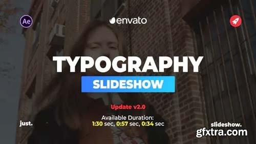 Videohive - Beautiful Typography Slideshow - 23340618