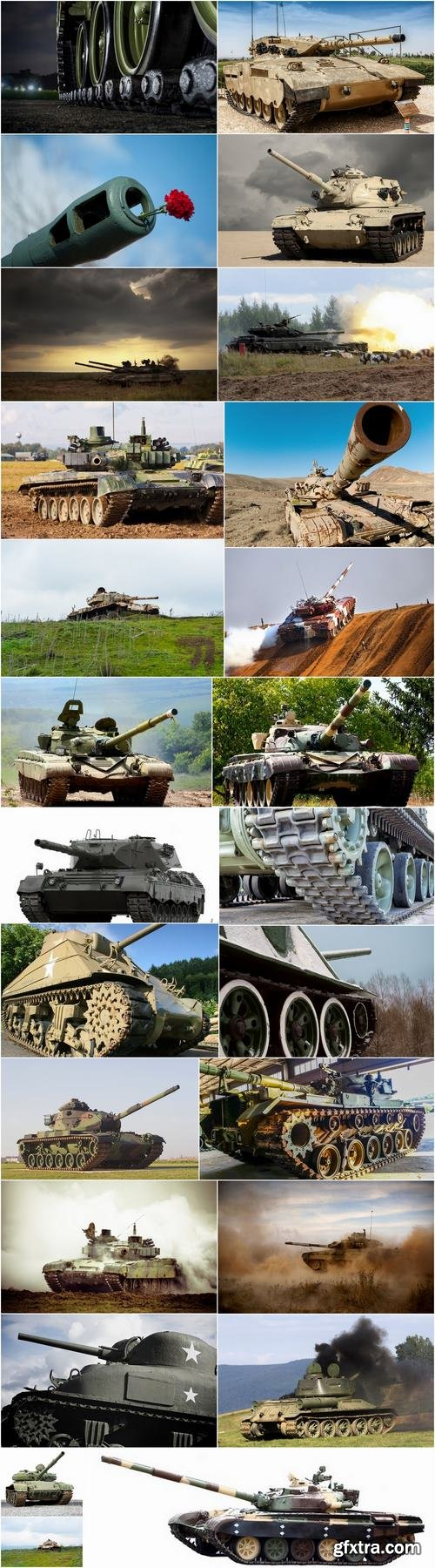 Tank armor cannon caterpillar drive 25 HQ Jpeg