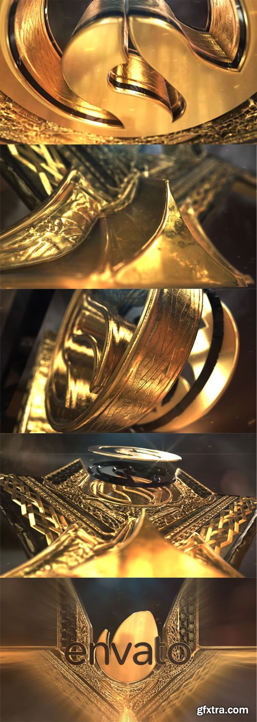 Videohive - Gold Element Logo - 22347225