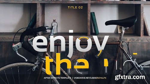 Videohive Creative Titles V2.1 16491525