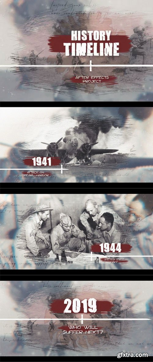 Videohive - History Timeline - 22820627