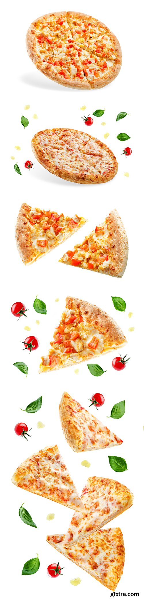 Pizza-3 Isolated - 10xJPGs