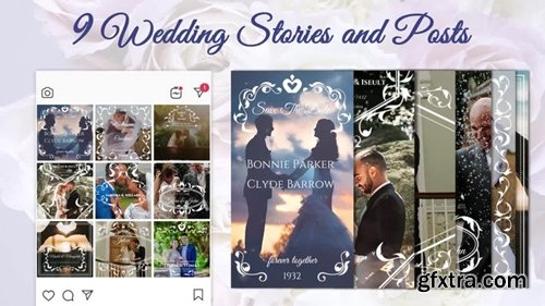 MotionArray - Wedding Stories And Posts 246098