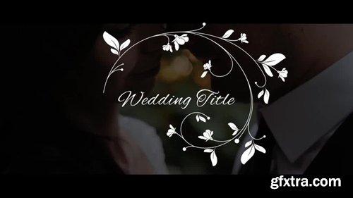 MotionArray - Elegant Wedding Titles 245850