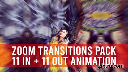 MotionArray - Zoom Transitions Pack 245707