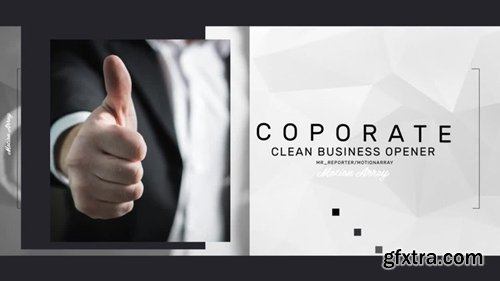 MotionArray - Corporate Clean Intro 245961