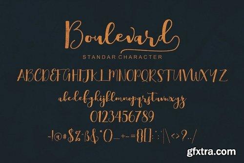 CM - Boulevard Script Font 3813363