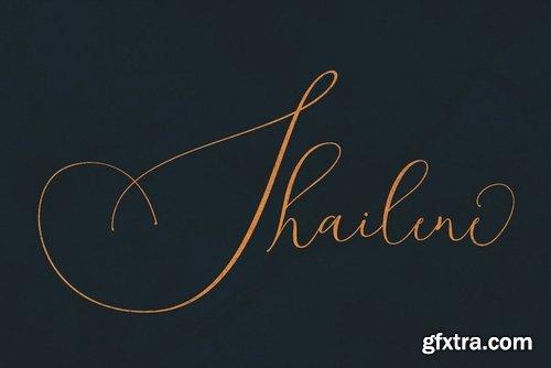 CM - Shailene Script Font 3828670
