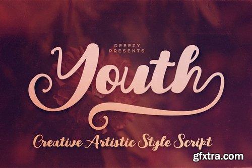 CM - Youth Script Font 3794225