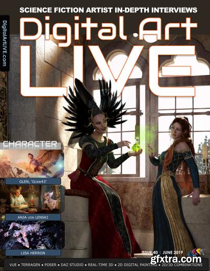 Digital Art Live - June 2019