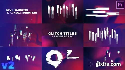 Videohive - Glitch Titles Sequence Mogrt - 22424385