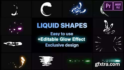 Videohive - Dynamic Liquid Shapes - 23052562
