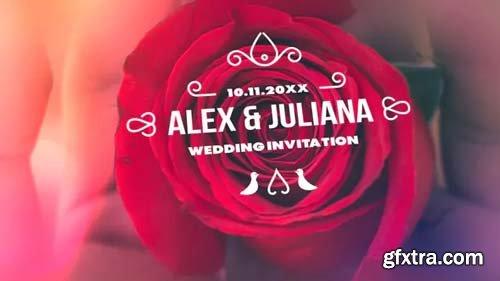 Videohive - Minimal & Luxury Wedding Titles - 23313573