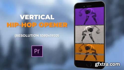 Videohive - Vertical Hip-Hop Opener - 23347115