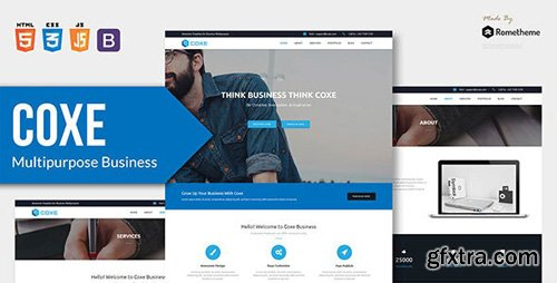 ThemeForest - COXE v1.0 - Corporate Multipurpose HTML Template - 23894852
