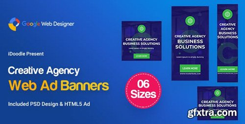 CodeCanyon - C58 - Creative, Startup Agency Banners HTML5 Ad - GWD & PSD - 23919325