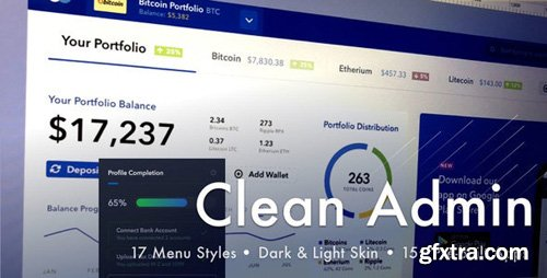 ThemeForest - Light Admin v4.3.0 - Clean Bootstrap 4 Dashboard HTML Template with Crypto - 19760124