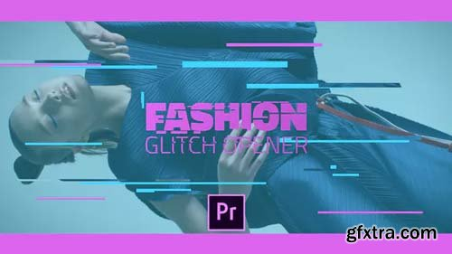 Videohive - Fashion Glitch Opener - 22286658