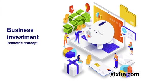 Business Investment - Isometric Concept 208610